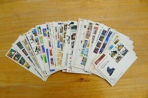 GB Stamps Collection of 44x First Day Covers - worth a look?