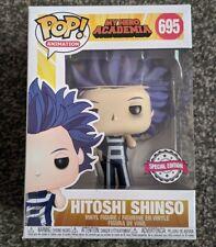 FUNKO POP ANIMATION MY HERO ACADEMIA HITOSHI SHINSO BRAND NEW IN HAND EXCLUSIVE