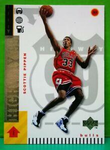 Scottie Pippen subset card Highway 99 1998-99 Upper Deck #300