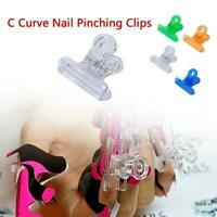 Nail Pinching Clips Fast Nail Extend Gel Manicure Tool