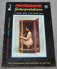 VINTAGE PHOTOGRAPHY INTERPRETATIONS 1957 FIRST EDITION ANDRE DE DIENES