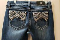 "Miss me Chloe boots denim jeans. Size 29 Rise 9"" Waist Flat 16=32X33"