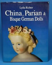 China Parian & Bisque German Dolls Lydia Richter 1993 HB DJ Doll Reference Book