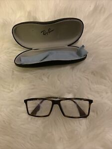 ray ban eyeglasses men frames Matthew Brown Mint Condition Hard case included