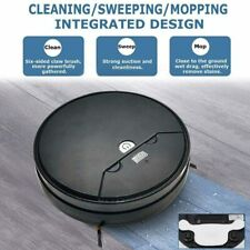 Robot Vacuum Cleaner Strong Suction Intelligent Sweeping Mopping with Timer US