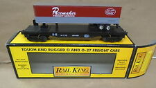 MTH Rail king train 30-7608 New york central pacemaker semi scale flat car