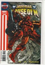 Iron Man: House of M #1 variant cover Greg Pak 9.4