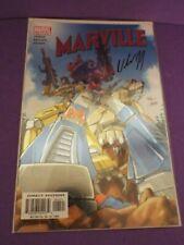 Marville #1 Foil Variant Sign Bill Jemas DYNAMIC FORCES Marvel Comics 2002 COA