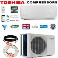 1.5 Ton 19 SEER 18000 BTU Ductless Air Conditioner Heat Pump Mini Split