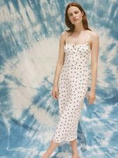 Realisation Par Insp The Alba Maxi Dress In White Strawberry - Multiple Sizes