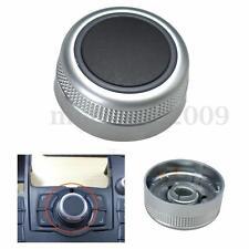 Main Menu Multimedia Rotary Control Switch Knob Cap Cover For Audi A6 A8 Q7 S6