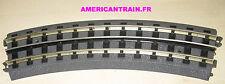 Rail courbe 0-42 RealTrax 40-1042 Échelle O MTH