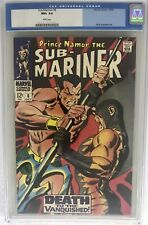 Sub-Mariner #6 CGC 9.6 White Pages 1968 Old Label Tiger Shark, Doctor Dorcas App