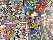 Uncanny X-Men FIRST APPEARANCE LOT 1st 201 221 244 282 X-Factor 24 Wolverine 66!