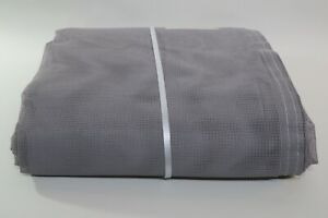 Gray 10' x 15' Nylon Mesh Tarp (2 available) with Grommets & Reinforced Hems