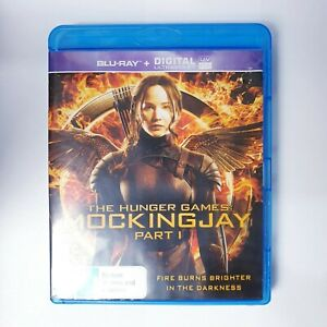 The Hunger Games Mockingjay Part 1 Movie Bluray Free Postage Blu-ray - Action