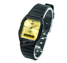 -Casio AW48HE-9A Dual Time Watch Brand New & 100% Authentic