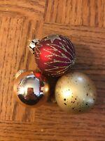 Christmas Ornaments Set Of 3