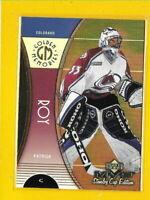 34725 PATRICK ROY 1999/00 MVP GOLDEN MEMORIES AVALANCHE CARD #GM2 ??