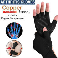 1Pair Arthritis Compression Gloves Hand Support Joint Pain Relief New