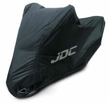 JDC Rain Waterproof Motorcycle Cover, Size Large - Black