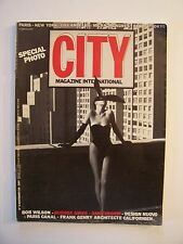 CITY - Magazine International - N° 5 - Spécial Photo (+ Design) - Novembre 1984