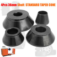 4Pcs/Set 36mm Car Wheel Balancer Standard Taper Cone Kit Set Shaft Accuturn