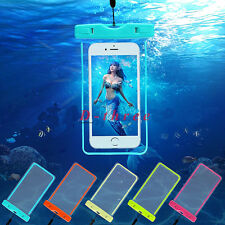 FOR IPHONE 7 PLUS 6 6S PLUS WATERPROOF UNDERWATER PHOTO CASE PHONE DRY BAG POUCH
