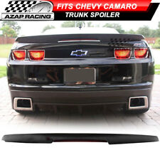 2010-2013 ZL1 Style Trunk Spoiler Wing Black W/ LED 3RD Brake Fits Chevy Camaro