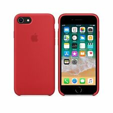 "Original de Apple iPhone 8 silicona, móvil 4,7"", funda protectora, funda protectora rojo"