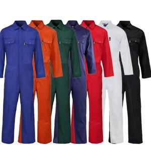 Grade 2 Boilersuit Ladies Men's Coverall Overall Work Wear Mechanics Student