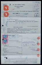 SOUTH AFRICA CROWN MINES LTD 1950 VINTAGE STAMPED SHARE TRANSFER CERTIFICATE
