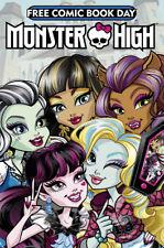 MONSTER HIGH FCBD 2017 ISSUE - TITAN COMICS - FREE COMIC BOOK DAY