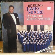 [GOSPEL]~SEALED LP~Rev. JAMES MOORE~Live With Mississippi Mass Choir~'90
