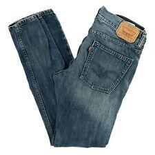 Levi's Strauss 520 Women's Jeans Tapered Mid Rise Medium Wash Blue Denim 29 X 29