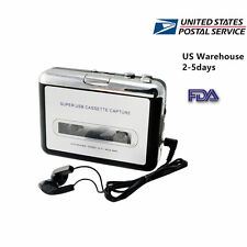 USA USB Cassette Tape to MP3 iPod CD Converter Capture Audio Music Player House