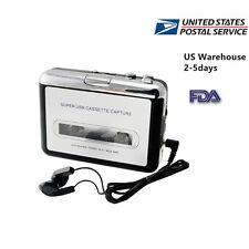 Handheld USB Cassette Tape to MP3 iPod CD Converter Capture Audio Music Player