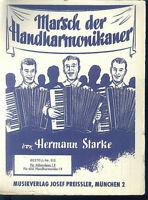 Hermann Starke : Marsch der Handharmonikaner