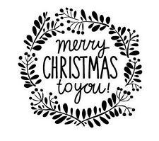 MERRY CHRISTMAS TO YOU STAMP CHRISTMAS, GIFT WRAPPING, CARDS, TAGS