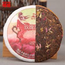 Promotions! Puer tea 100g cooked tea rose flavor tea slimming healthy green food