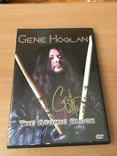 Gene Hoglan. Testament. Signed DVD. Atomic Clock.