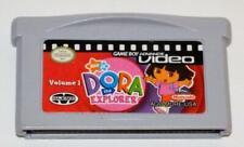 GBA VIDEO: DORA THE EXPLORER VOLUME 1 NINTENDO GAMEBOY ADVANCE SP