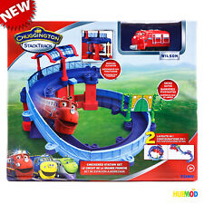 Tomy Chuggington Train StackTrack Checker Station Set Playset with Wilson NEW