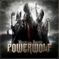 "POWERWOLF ""BLOOD OF THE SAINTS"" CD NEW+"