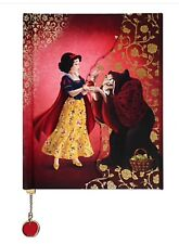 NEW Disney Store D23 Snow White & Evil Queen Fairytale Designer Journal Villain