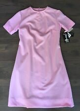 NWT Vtg Bubble Gum PINK Poly Knit SCOOTER Space Age Halloween Dress