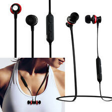 Magnetic Wireless Sport Bluetooth Stereo Headphone Earbuds Headset Earphone
