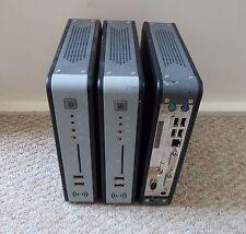 Lote De Trabajo 3 X Mini silencioso PC 1.6GHz, DDR3 Ram, Sata, ranura PCI, DVI doble, USB + PSU