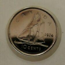 1974 CANADA 10 CENT COIN ~ SPECIMEN COIN ~ UNCIRCULATED ~