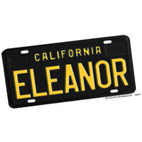 1968 Steve McQueen Movie Bullit Eleanor Design Aluminum License Plate